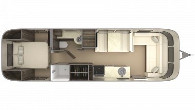 2019 Airstream International Signature 30RB Floor Plan Img
