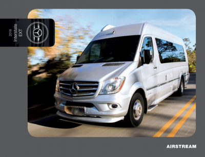 2018 Airstream Interstate Brochure Cover