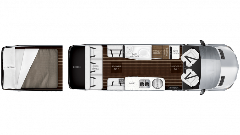 Airstream Interstate EXT Grand Tour Slate Edition Class B