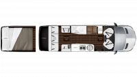 2019 Airstream Interstate EXT GRAND TOUR Floor Plan