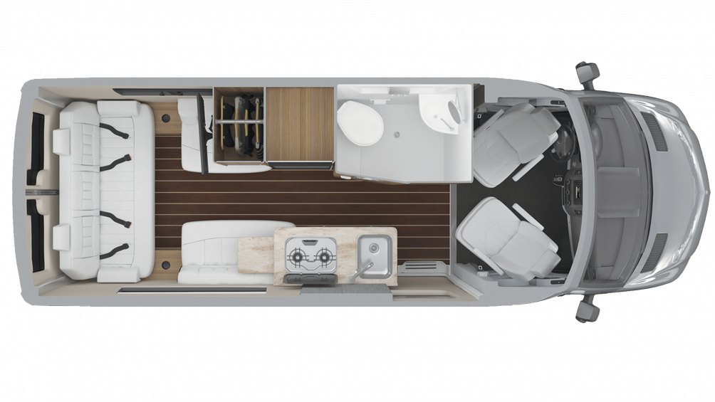 2019 Airstream Interstate 19 Interstate 19 Floor Plan Img