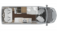 2019 Airstream Interstate 19 Interstate 19 Floor Plan