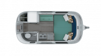 2019 Airstream Nest 16FB Floor Plan