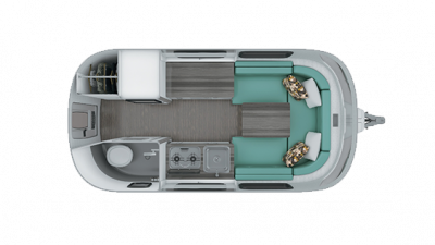 2019 Airstream Nest 16U Floor Plan Img
