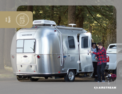 2018 Airstream Sport Brochure Cover