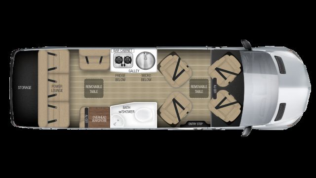 2019 Airstream Tommy Bahama Interstate EXT LOUNGE