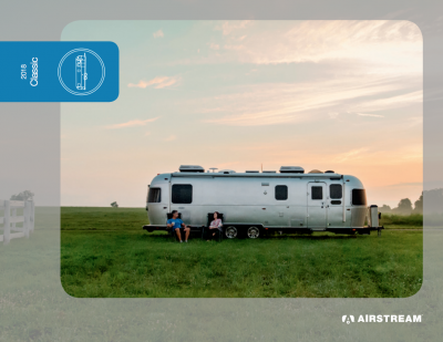 Airstream Classic brochure cover