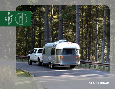 Airstream International Serenity brochure cover