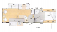 2004 Ameri-Camp 305DS Floor Plan