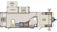 2020 Bullet 269RLS Floor Plan