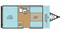 2016 Clipper 12RBST Floor Plan