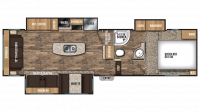 2018 Chaparral Lite 30RLS Floor Plan