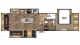 2019 Chaparral 336TSIK Floor Plan