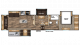 2018 Chaparral 392MBL Floor Plan