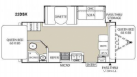 2012 Freedom Express 22DSX Floor Plan