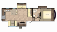 2018 Cruiser Aire 29RK Floor Plan