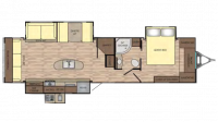 2018 Sunset Trail Grand Reserve 33SI Floor Plan