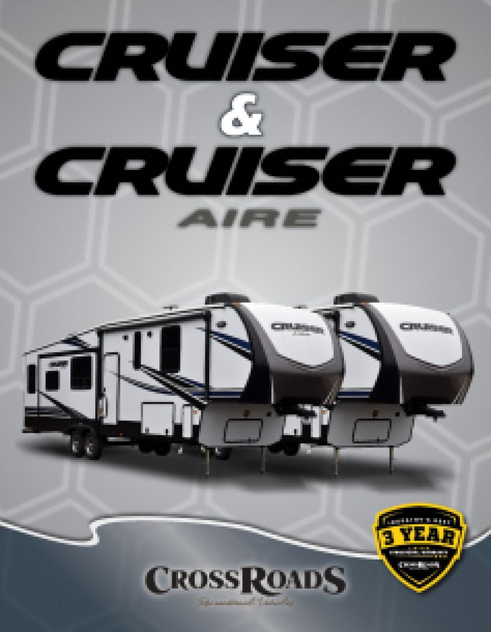 2019 CrossRoads Cruiser Aire RV Brochure Cover