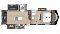 2018 Astoria by Aerolite 2953RLF Floor Plan