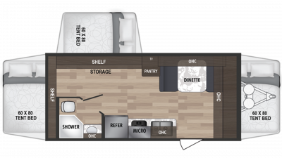 2019 Kodiak Cub 179E Floor Plan Img