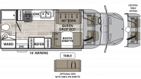 2019 Isata 3 24RBM Floor Plan