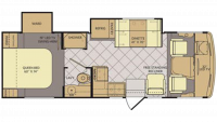 2015 Flair 26E Floor Plan