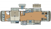 2019 Berkshire XL 40D-380 Floor Plan