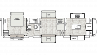 2019 Cedar Creek Champagne 38EFK Floor Plan