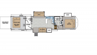 2019 XLR Thunderbolt 382AMP Floor Plan