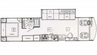 2003 Hurricane 33SL Floor Plan