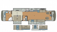 2019 Berkshire XLT 43C-450 Floor Plan