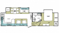 2009 Cardinal 3100RK Floor Plan