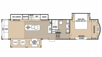 2018 Cedar Creek 36CK2 Floor Plan