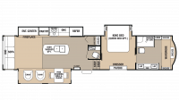 2018 Cedar Creek 38FBD Floor Plan