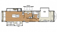 2019 RiverStone 39MO Floor Plan