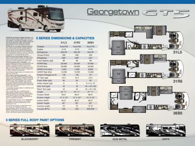 2018 Forest River Georgetown 5 Series RV Brochure Cover