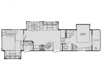 2011 Big Country 3550TSL Floor Plan