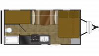 2018 Heartland Mallard 185 Floor Plan
