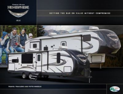 2019 Forest River Salem Hemisphere RV Brochure Cover