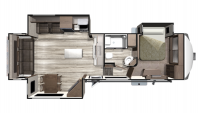 2019 Mesa Ridge MF337RLS Floor Plan