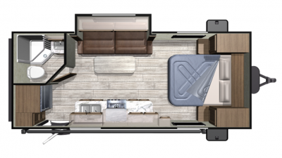2019 Mesa Ridge Conventional 20FBS Floor Plan Img