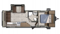 2019 Mesa Ridge Conventional 23RLS Floor Plan