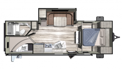2019 Mesa Ridge Conventional 24BHS Floor Plan Img