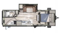 2019 Mesa Ridge Conventional 24BHS Floor Plan