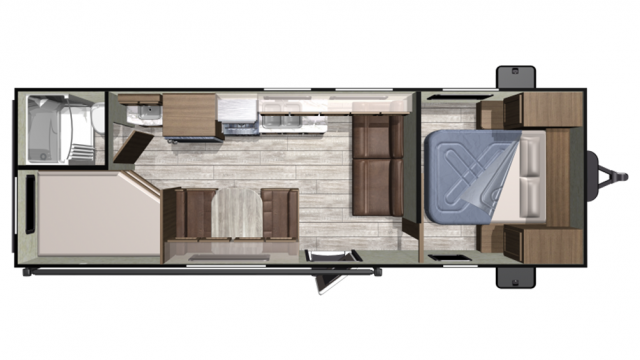 2019 Mesa Ridge Conventional 26BH Floor Plan