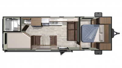 2019 Mesa Ridge Conventional 26BH Floor Plan Img