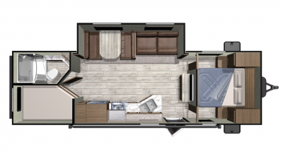 2019 Mesa Ridge Conventional 26BHS Floor Plan Img
