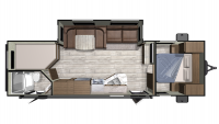 2019 Mesa Ridge Conventional 27BHS Floor Plan