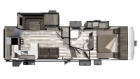 2019 Mesa Ridge Limited MF280RKS Floor Plan