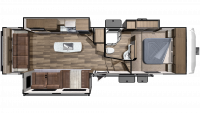 2019 Mesa Ridge Limited MF291RLS Floor Plan